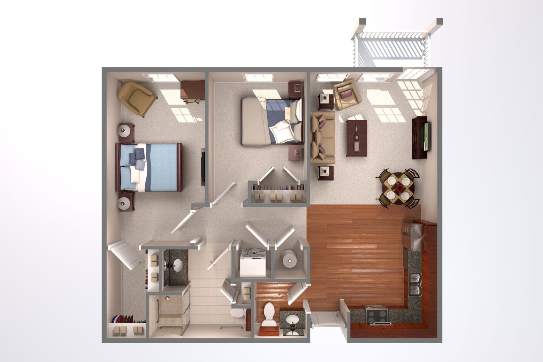 Prime Independent Living Room Layout